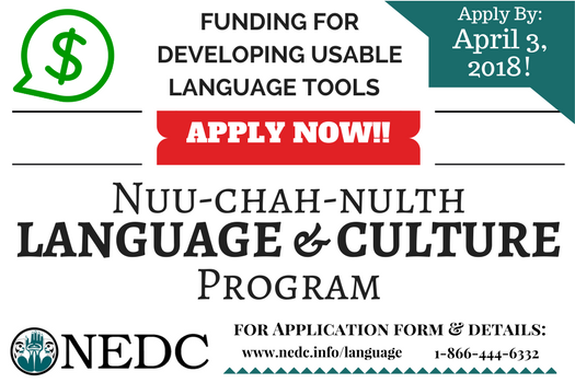 Funding for Developing Usable NCN Language Tools