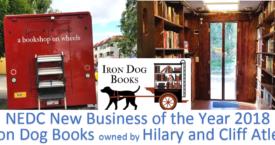Iron Dog Books unique bookstore wins NEDC Best New Business 2018